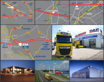 Verkoopplaats ESA Trucks Polska Sp. z o.o.