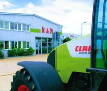 Verkoopplaats k&h Landmaschinenhandel