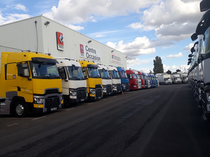 Verkoopplaats Renault Trucks France by Volvo group Lyon