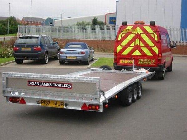 BRIAN James Trailers TT-T-303 autotransporter aanhanger
