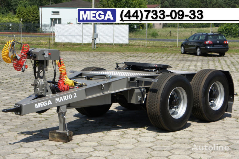 nieuw MEGA 2015 SALE !!! 2 Achsen Dolly fur Kipper mit Hydraulik - BEREIT ! dolly aanhanger
