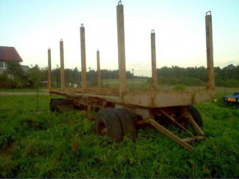 houttransport aanhanger