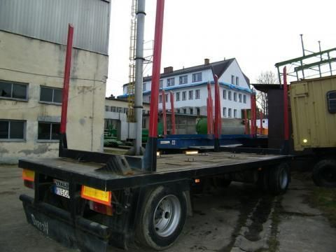 TRAILOR R 202 EN 3 L houttransport aanhanger