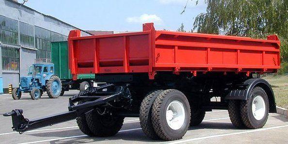 nieuw KAMAZ SZAP-8543 kipper aanhanger