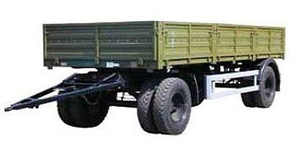 nieuw KAMAZ SZAP-8355 open laadbak aanhanger