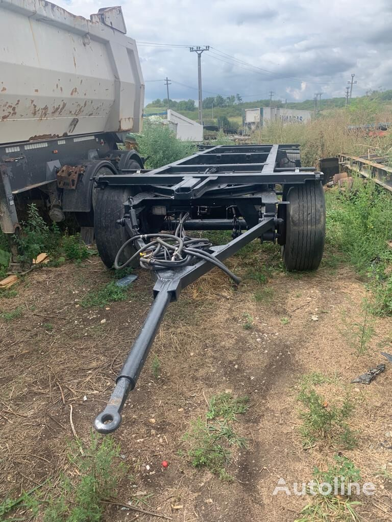 KÖGEL remorca 2 axe - NEW chassis aanhanger
