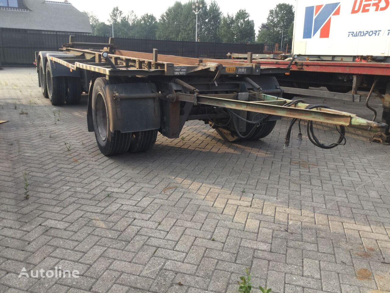 GS Meppel Ag-2800 r container aanhanger
