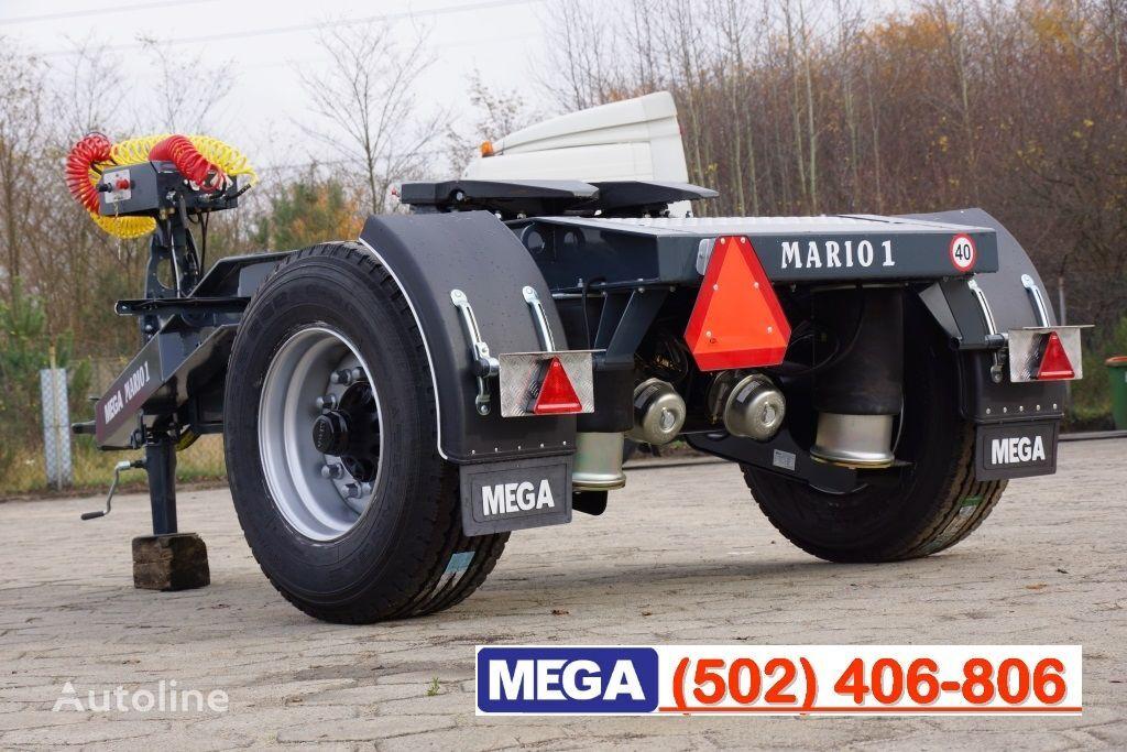 nieuw MEGA 1 Achse Dolly fur Kipper / Hydraulik Pumpe / FERTIG  dolly aanhanger