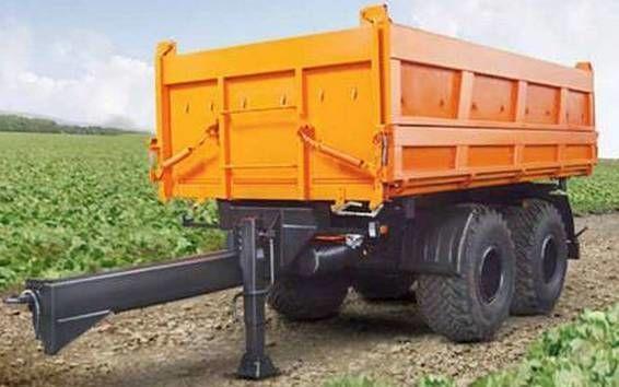 nieuw KAMAZ SZAP-8582T kipper aanhanger