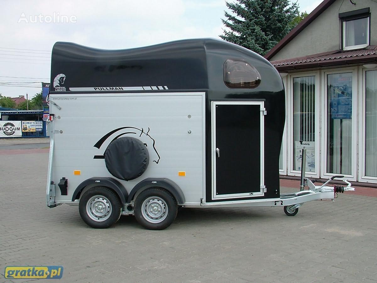 nieuw Cheval liberte Cheval Liberte GOLD TWO Aluminium paardenaanhangwagen