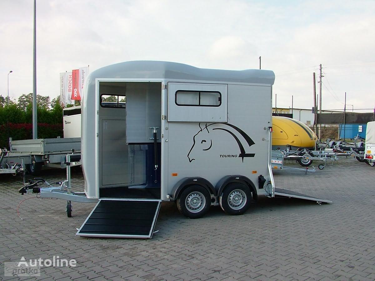 nieuw Cheval liberte Przyczepa Dwukonna Przyczepa Aluminiowa marki Debon model Gold T paardenaanhangwagen