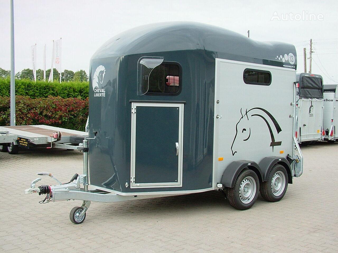 nieuw Cheval liberte Przyczepa dwukonna Przyczepa Aluminowa model GOLD lll paardenaanhangwagen