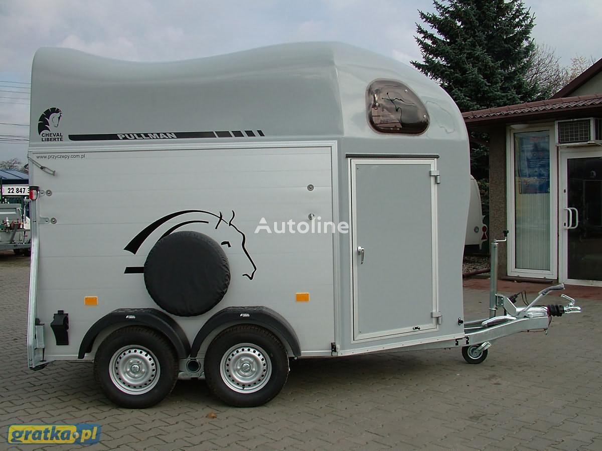 nieuw Cheval liberte Przyczepa marki Debon Aluminiowa model Gold Two paardenaanhangwagen