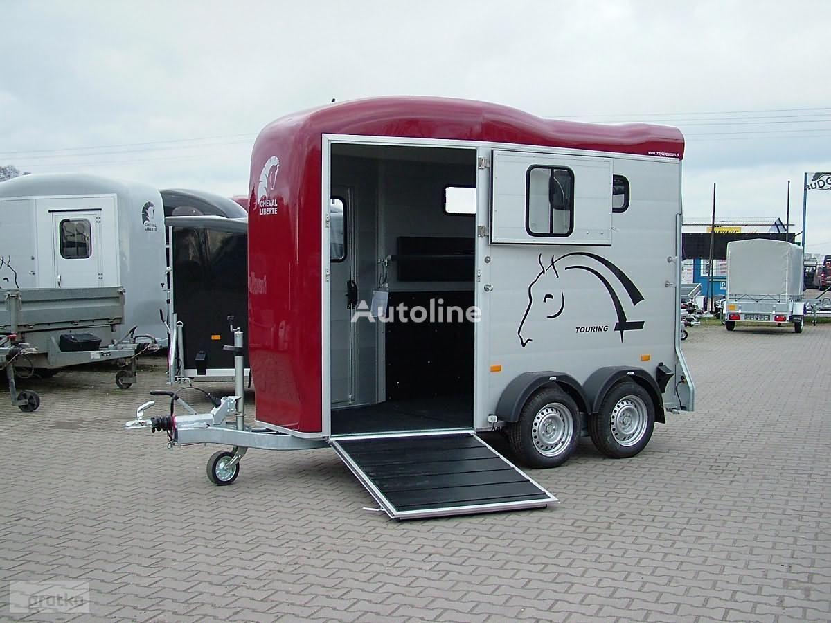 nieuw Cheval liberte Przyczepa model Gold Touring One Przyczepa Jednokonna Aluminiowa paardenaanhangwagen