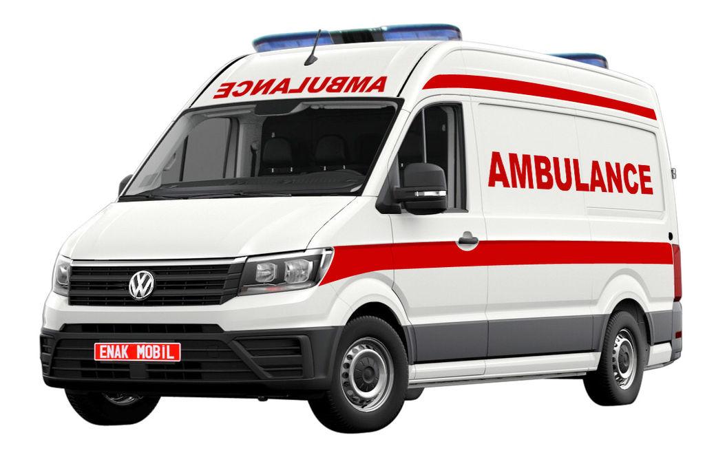 nieuw VOLKSWAGEN Transporter T6 ambulance
