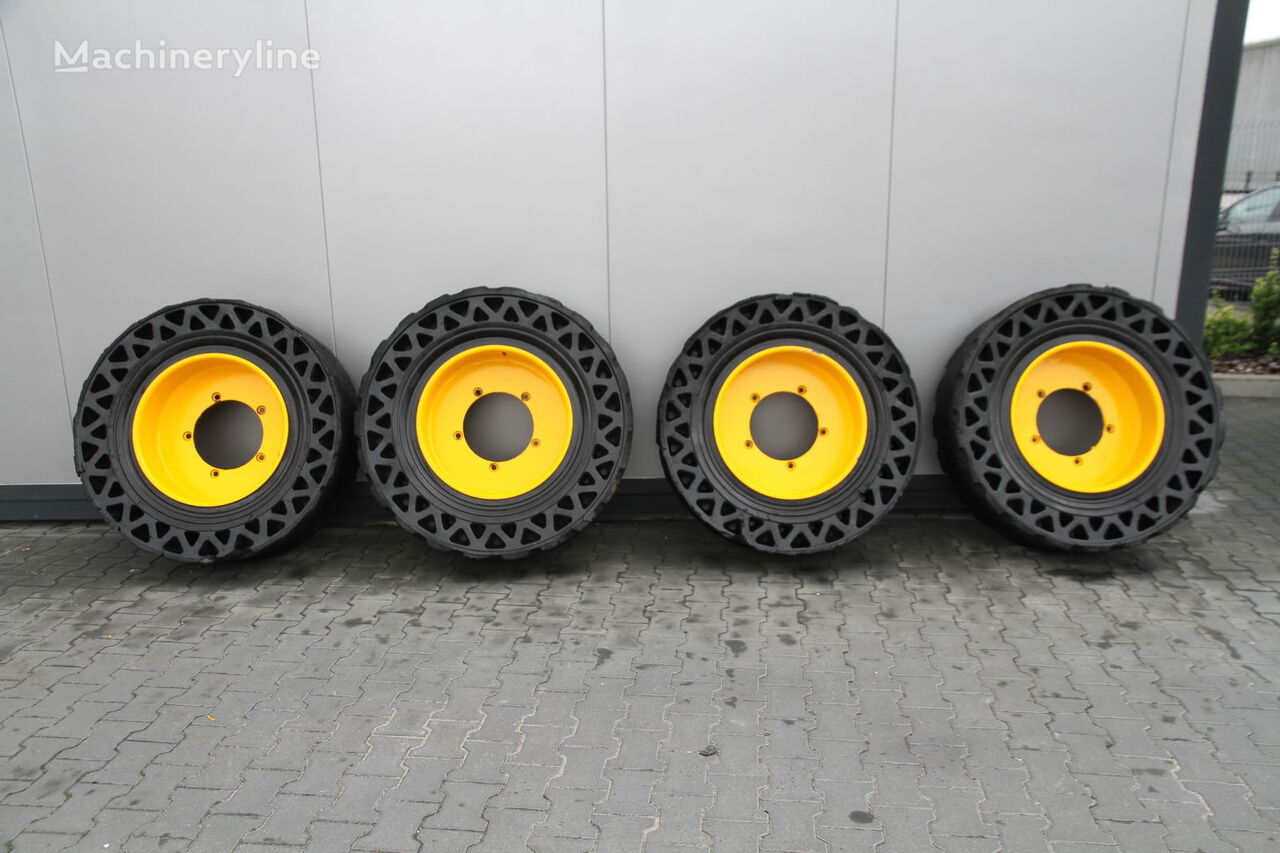 Solideal SOLID TYRES  4 UNITS bouwmachine band