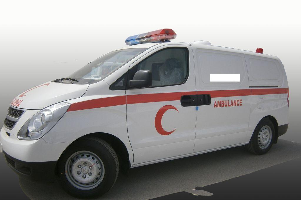 nieuw HYUNDAI H1 Petrol ambulance