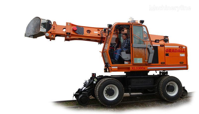 nieuw GRADALL XL 3300 Spoorwegmachine