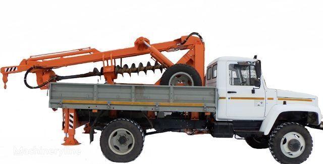 BKM ZU Burilno-kranovaya mashina BKM-3U na avtomobilyah GAZ 33081 («Sa anderen bouwmachines