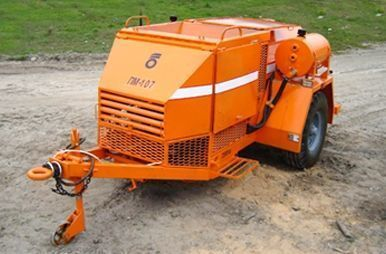 nieuw PM 107 Recikler asfaltobetona anderen bouwmachines