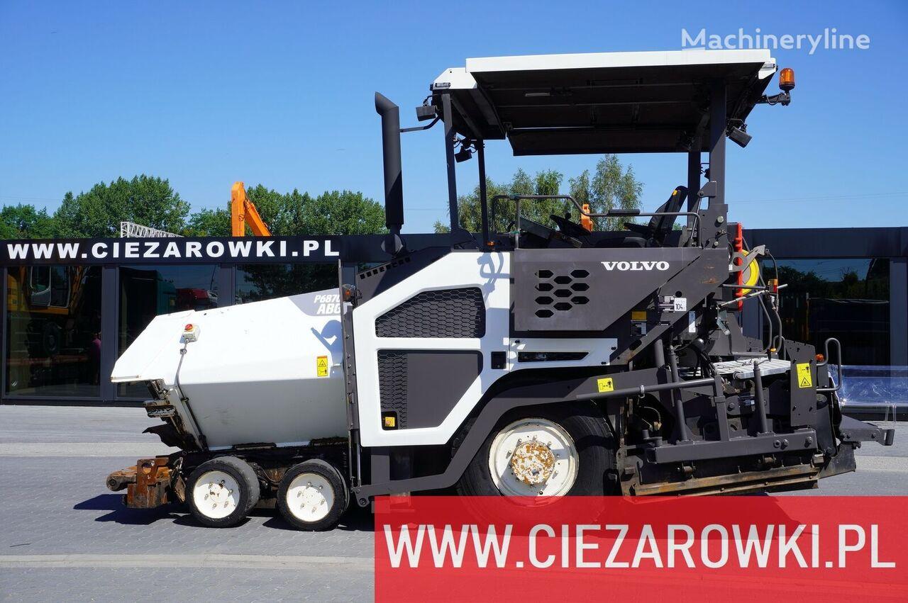 VOLVO-ABG P6870C , work width 5m , basket 12m3 , 6x6x6 asfalteermachine op wielen