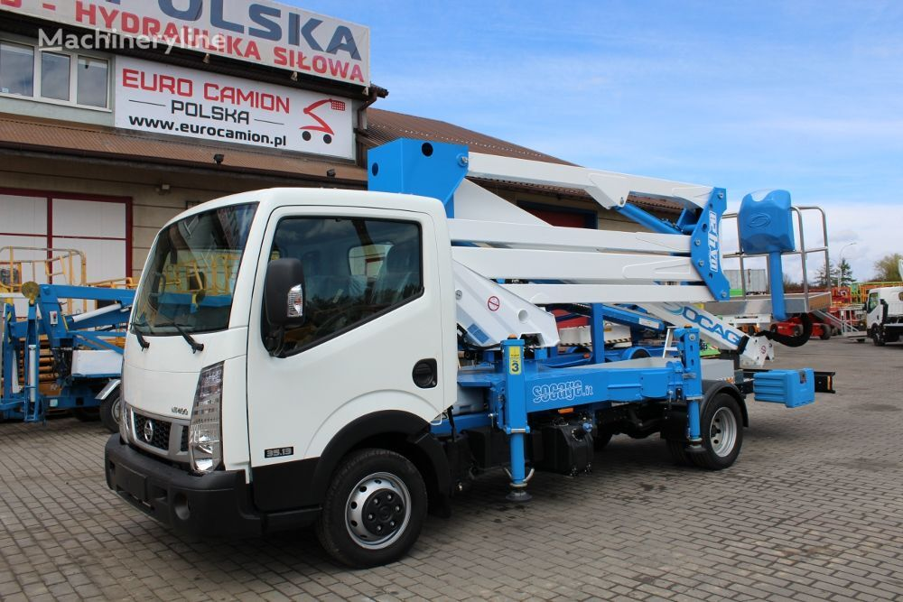 nieuw NISSAN Cabstar NT400 35.13 new Socage DA420 X-Factor - 20 m available i autohoogwerker