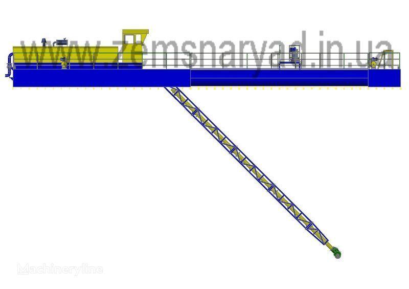 nieuw NSS Zemsnaryad NSS 1600/25-F-K baggermachine