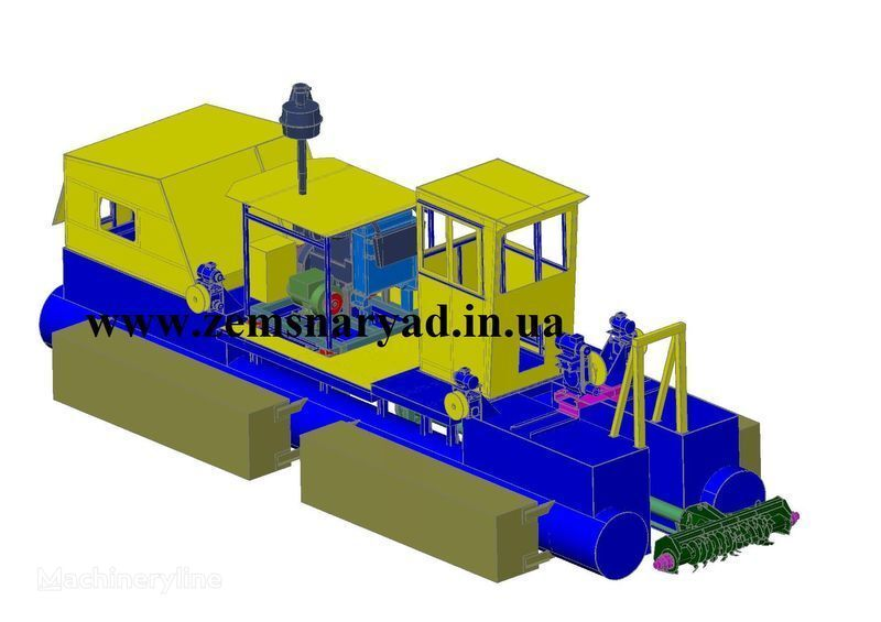 nieuw NSS Zemsnaryad NSS 300/30-F baggermachine
