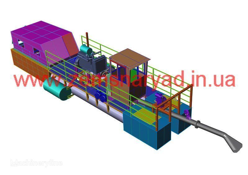 nieuw NSS Zemsnaryad NSS 400/20-GR baggermachine