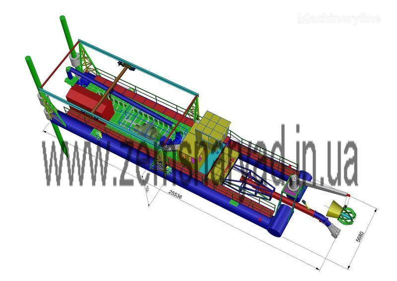 NSS Zemsnaryad NSS 6000/70-F-GR-E baggermachine