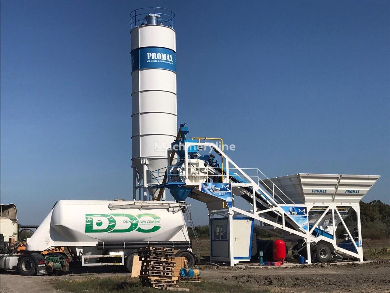 nieuw PROMAX Mobile Concrete Batching Plant PROMAX M60-SNG(60m³/h) betoncentrale