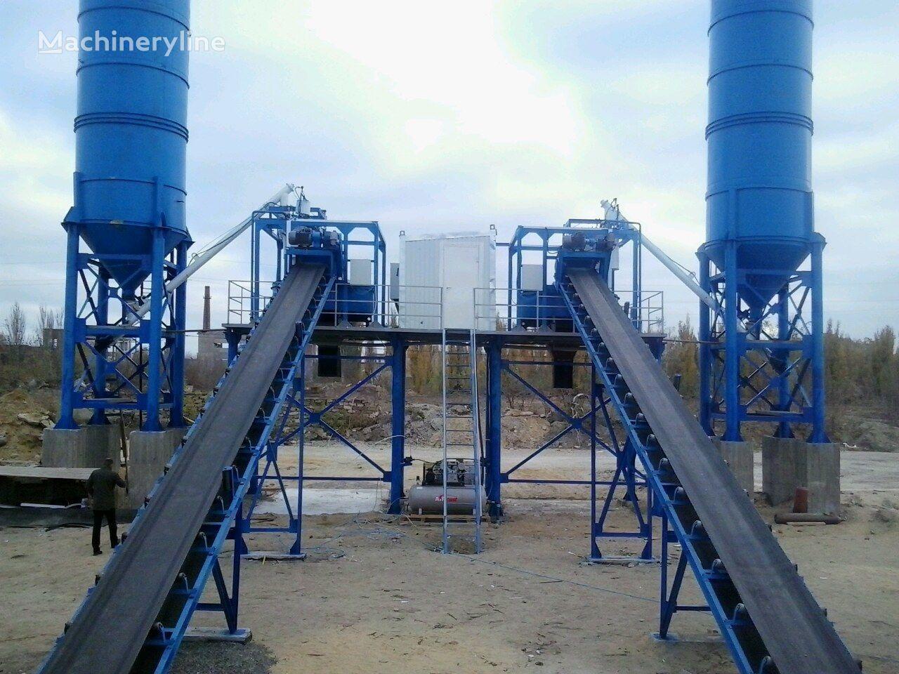 nieuw ABSU-80 (skip/konveyer) betoncentrale