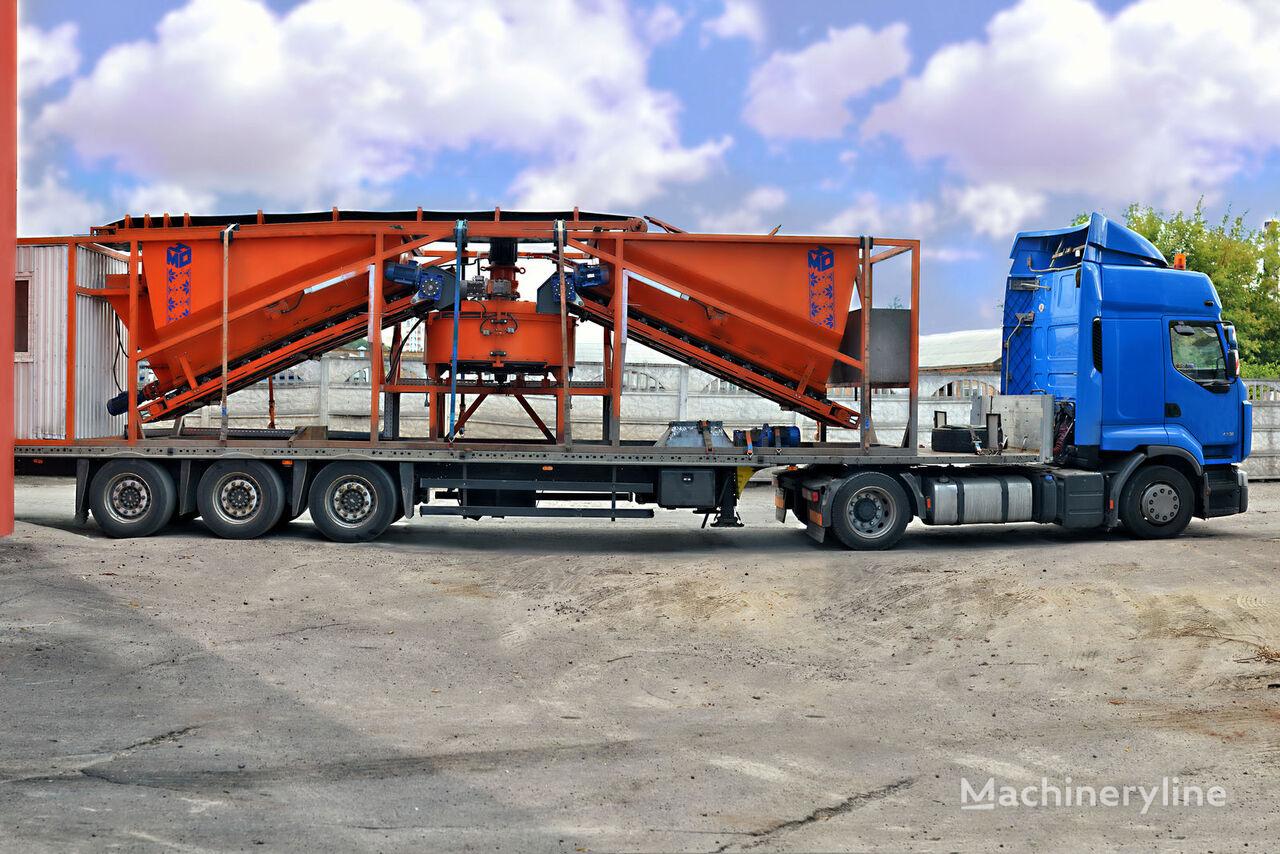 nieuw Mobilniy Betonniy Zavod MBV-15 betoncentrale