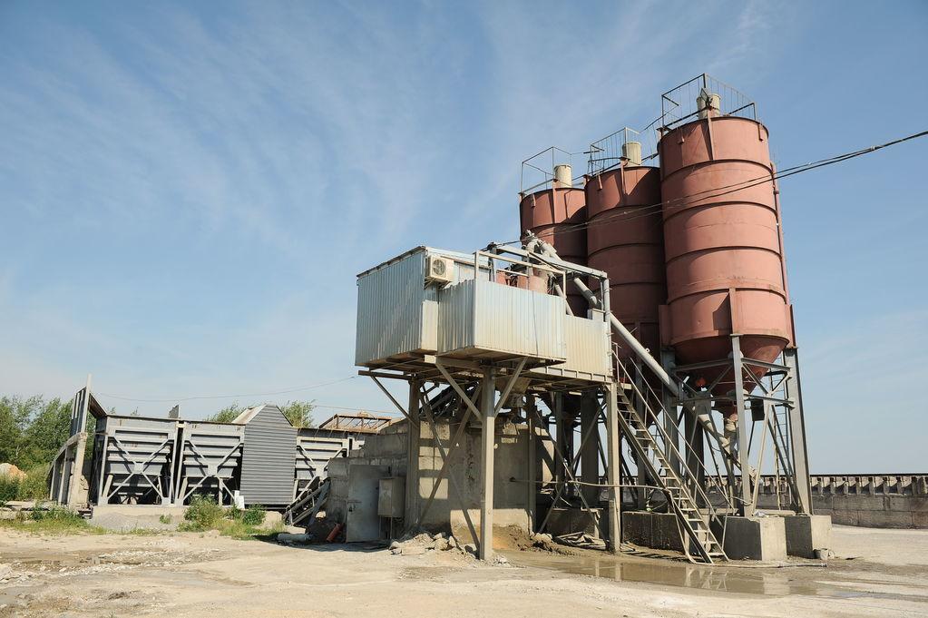 nieuw Stacionarnyy betonnyy uzel ABSU-50 (skip/konveyer) betoncentrale