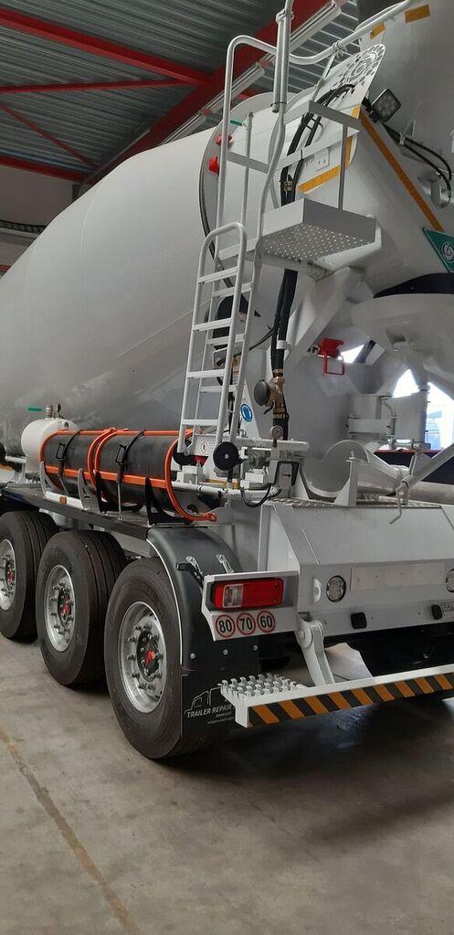 nieuw BETAMIX 9  m3 betonmixer