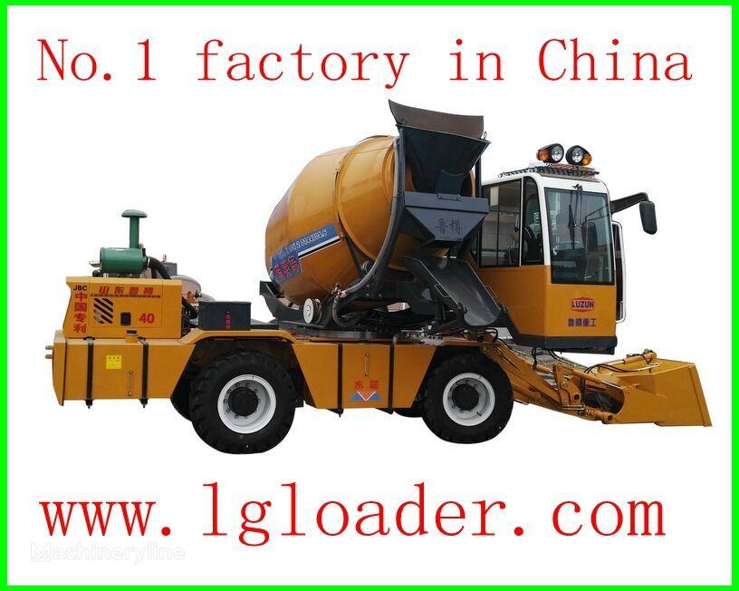 nieuw LUZUN self loading concrete mixer1 betonmixer