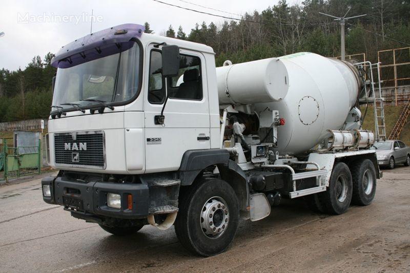 MAN 33.343 betonmixer