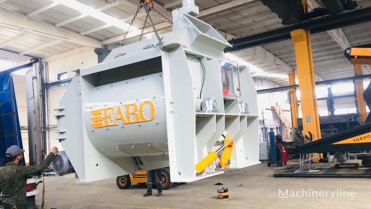 nieuw FABO FABO 1 m3 TWIN SHAFT MIXER IS  READY betonmolen