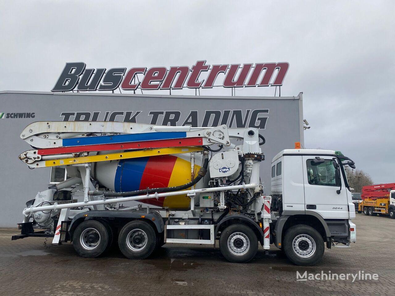Cifa Magnum MK  op chassis MERCEDES-BENZ Actros 3244  betonpomp