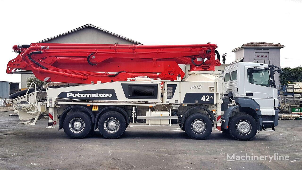 Putzmeister BSF 42-5.16H op chassis MERCEDES-BENZ Axor 4140 8x4 - 2014 Putzmeister 42-5 betonpomp