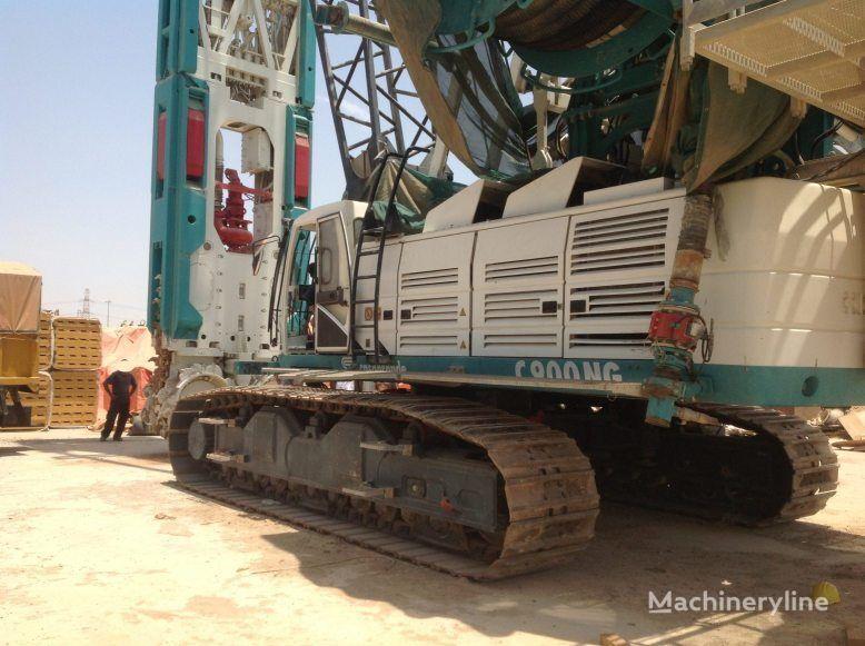 CASAGRANDE FD90 on C900 crane  EXCELLENT CONDITION!!! boorinstallatie