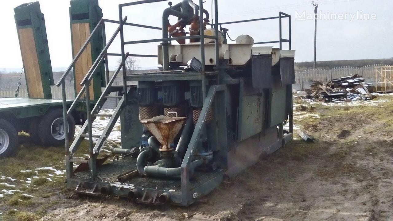 VERMEER  Mud recycling unit Basic Fabrication MCS 260 boorinstallatie