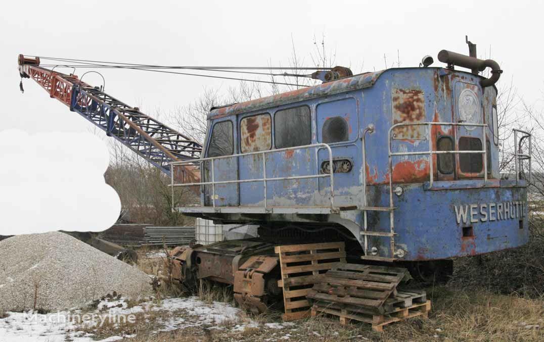 WESERHÜTTE W12 dragline