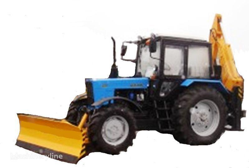 MTZ Ekskavator-buldozer BAM-2012 graaflaadmachine
