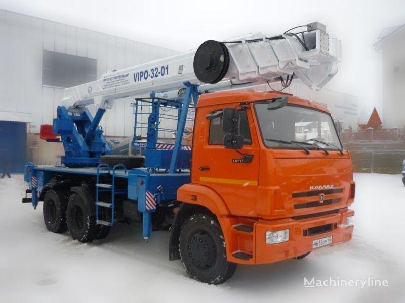 KAMAZ VIPO-32  hoogwerker