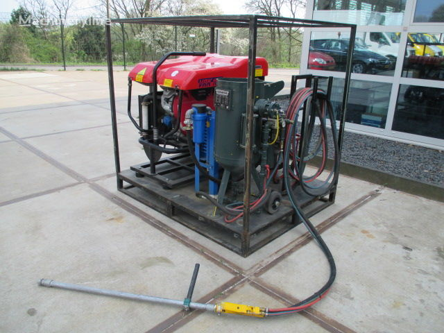 ROTAIR VRK 160 - Straalunit Graffiti Cleaner industriële equipment
