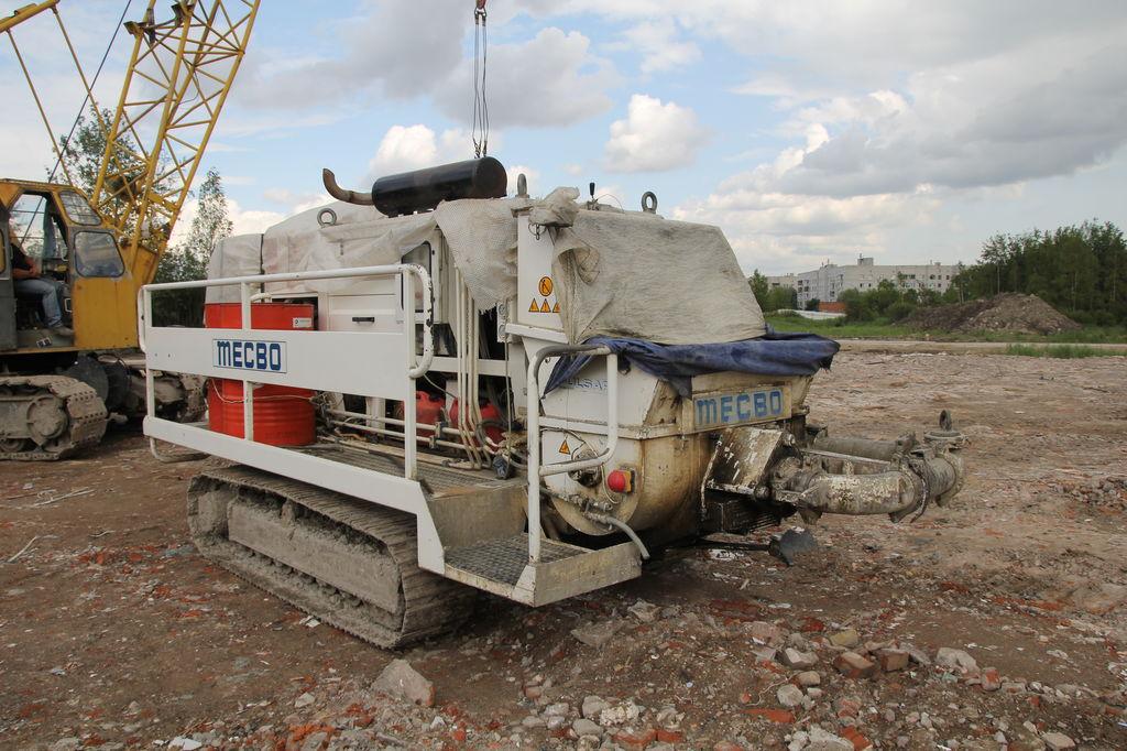 Mecbo P-6.80 kleine betonpomp