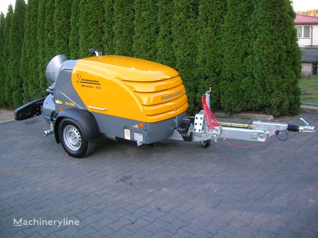 nieuw PUTZMEISTER M740/4 NEW GENERATION kleine betonpomp