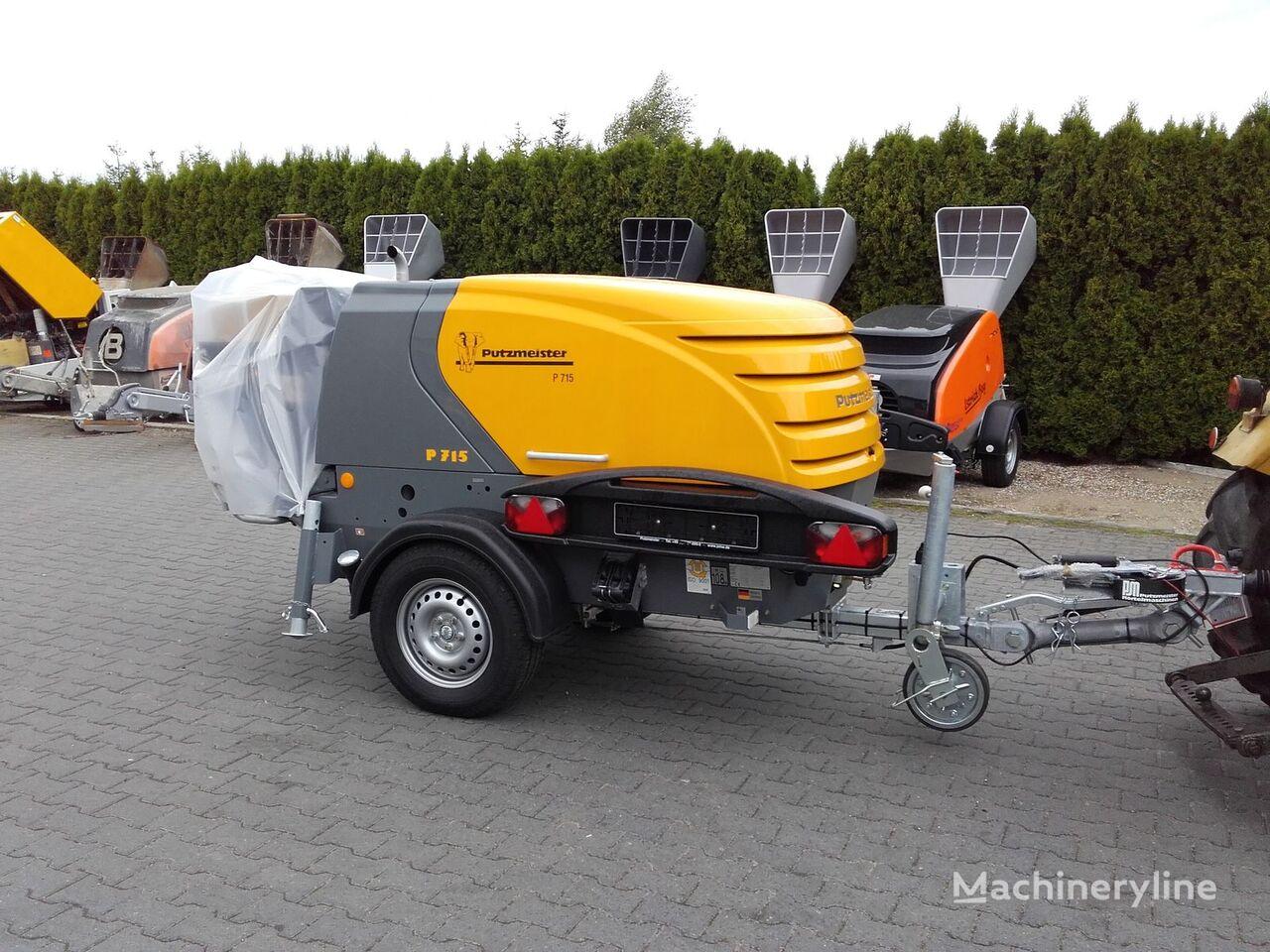 nieuw PUTZMEISTER P-715 kleine betonpomp
