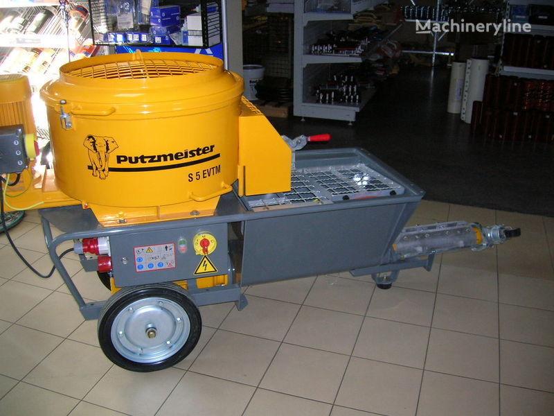 nieuw PUTZMEISTER S5 EV/TM kleine betonpomp